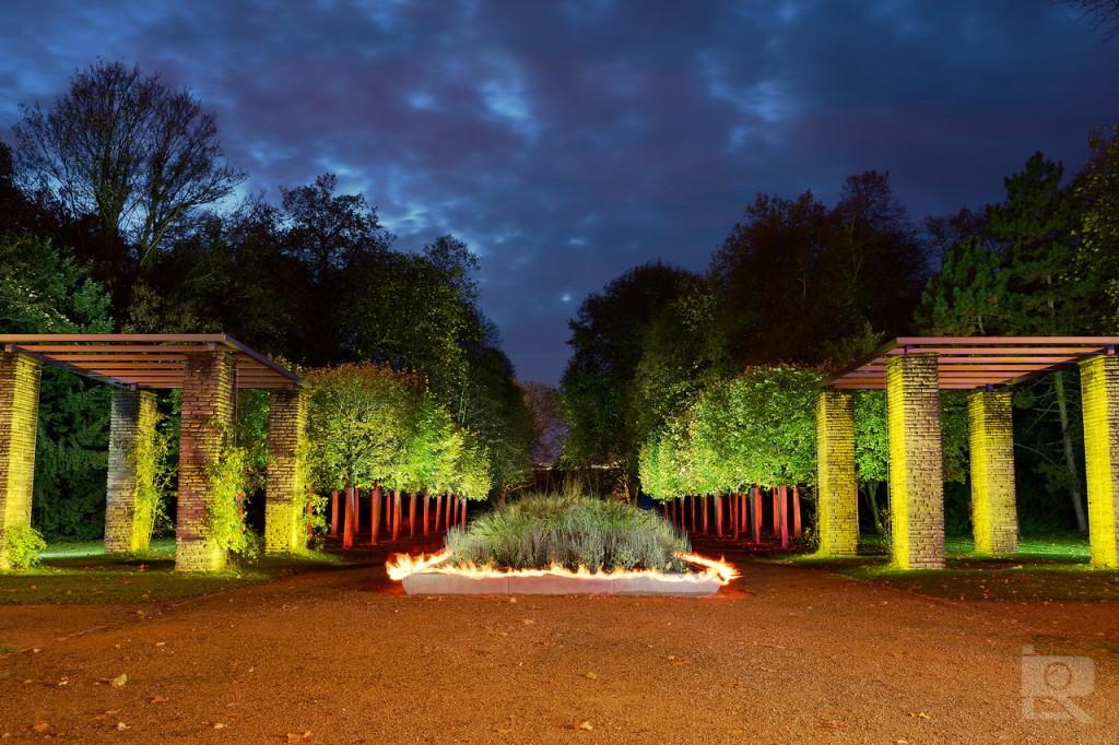 Entree of the emperors garden
